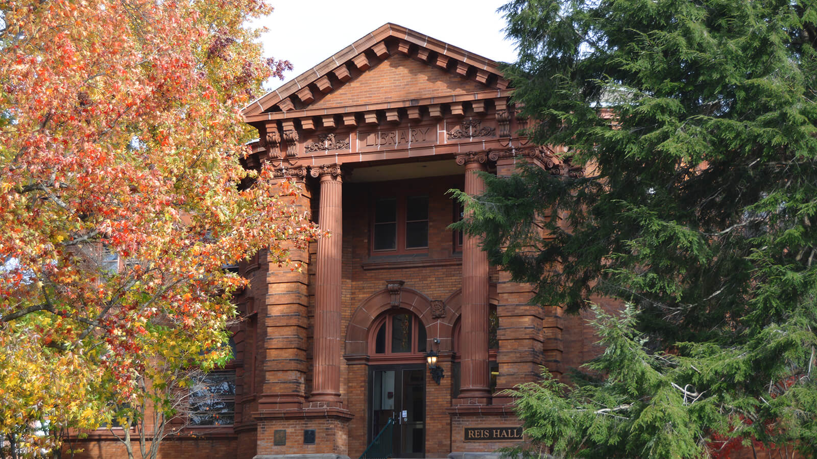 A picture of a building on Allegheny College campus.