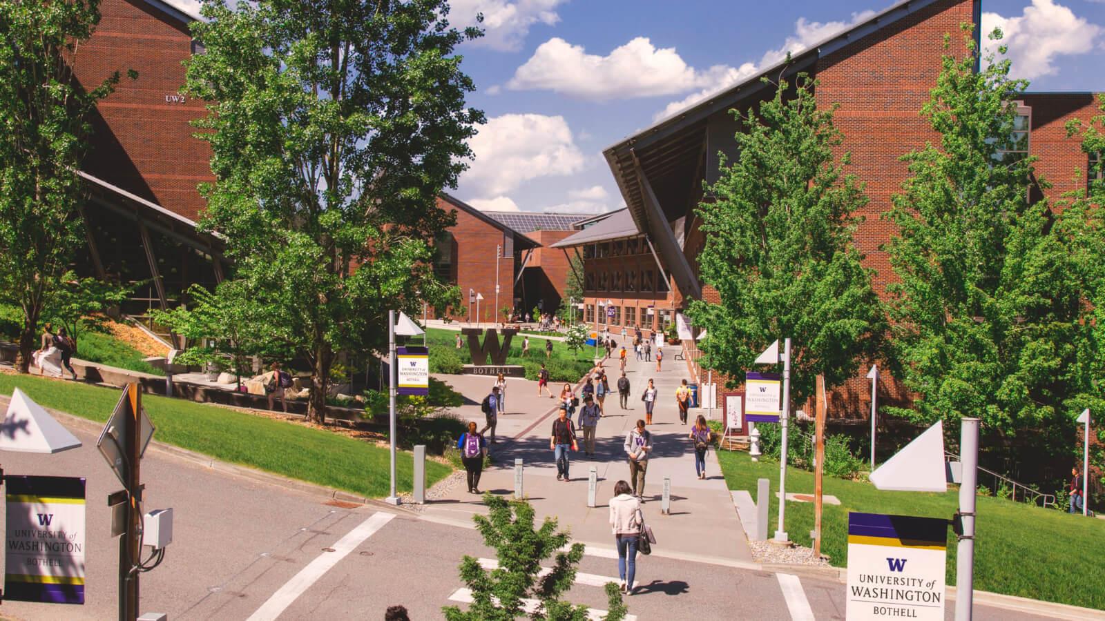 university of washington bothell campus cappex