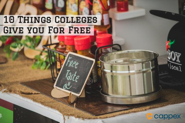 10 Things Colleges Give You for Free