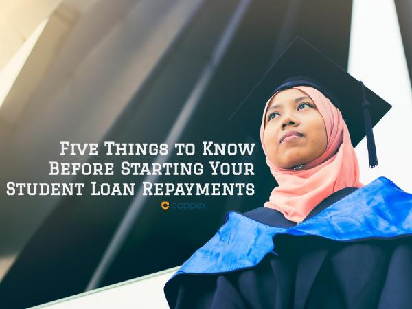 5 Things to Know Before Starting Your Student Loan Payments