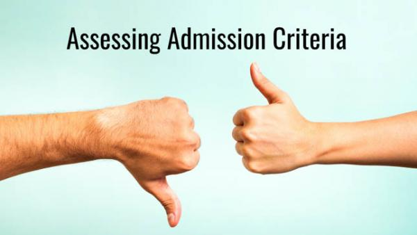 Assessing Application Criteria