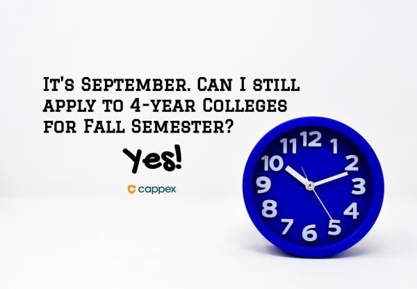 Colleges Accepting Applications September 2019