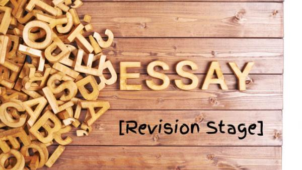 The College Essay Revision Stage