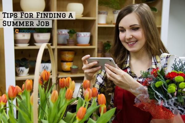 Tips for Finding a Summer Job