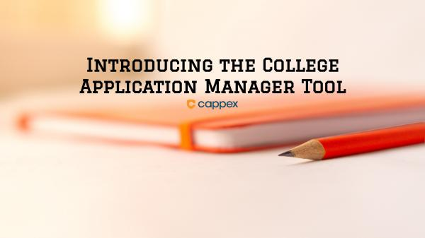 Introducing the College Application Manager Tool