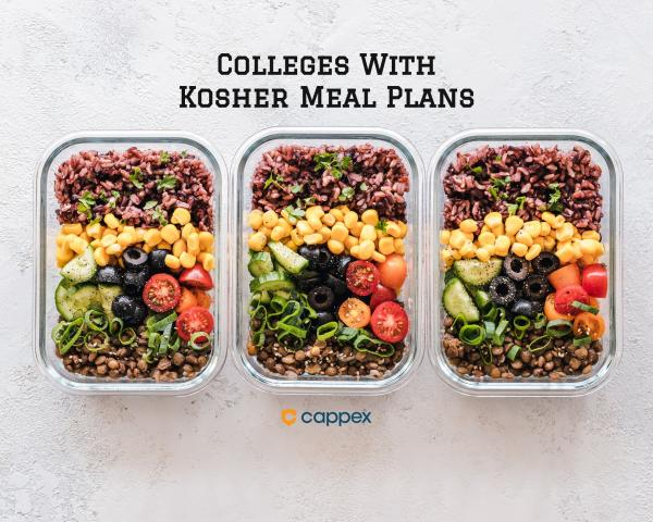Colleges with Kosher Meal Plans