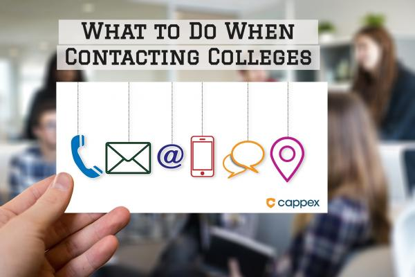 What to Do When Contacting Colleges