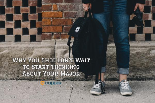 Why You Shouldn't Wait to Start Thinking About Your Major