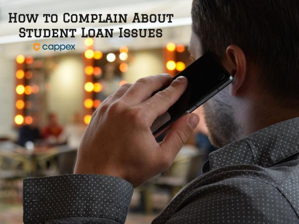 How to Complain about Student Loan Problems
