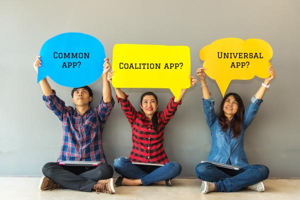 Common App, Coalition, or Universal?